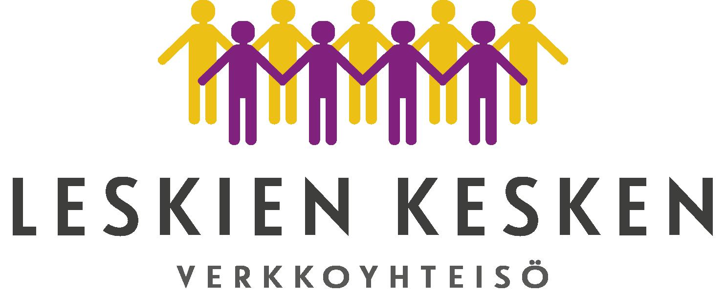 Leskien kesken logo